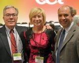 Andy Sweeny, Theresa Achten and Ed Franchi Credit: Lisa Desatnik