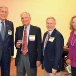 United Way president Rob Reifsnyder, honoree David Moccia, Buzz Ward and Sue Ellen Stuebing Credit: Lisa Desatnik