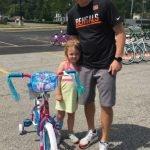 Brynn Foley with dad Joshua Foley