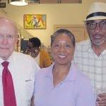 Otto Budig, Brenda Grier and Melvin Grier