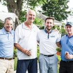 Ken Heldman, Andy Berman, Adam Greenberg and Jody Brant, event co-chair