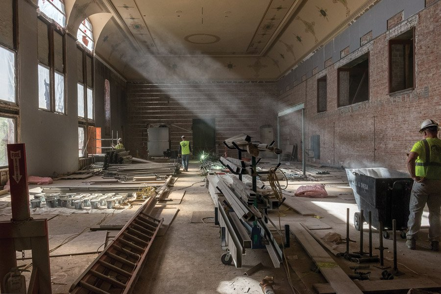 Cincinnati Music Hall revitalization. Photo by Matthew Zory.