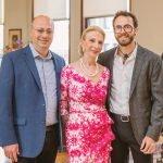 Marc Greenberg, Joyce Elkus and Zac Greenberg