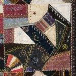 Victorian Crazy Quilt, circa 1888-89
