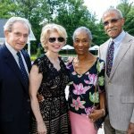 Tom and Cathy Crain with Jean and Dr. Alvin Crawford
