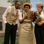 "A scene from The Children's Theatre's ""Young Abe Lincoln"""