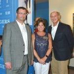Cobi Weissbach, development director, National Museum of American Jewish History; Abby Schwartz, Skirball Museum director; and Phil Darivoff, board chair, National Museum of American Jewish History