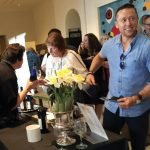 Attendees at Taste of Duveneck, which drew a crowd of 750 this year