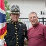 Sgt. John Smith and Col. Danny R. McKnight