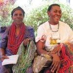 Ugandan women from Bead for Life's entrepreneurial training