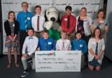 John Paul II Middle School and charity CancerFree Kids