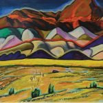 """Painterly Desert"" by Wolfgang Ritschel"