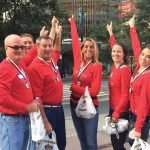 Team Richards Industries: Bill Metz, Jesse Bunch, Charles Page, Cheryl Neiheisel, Tara Hessel and Logan Moore