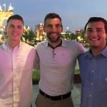 Eric Bowsher, FC goalie Mitch Hildebrand and Andrew Everetts
