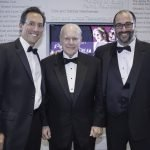 Executive Director Jay Woffington, Otto M. Budig Jr. and Producing Artistic Director Brian Isaac Phillips