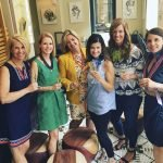 Committee members Kristin Crowley, Kendra Black, Donna Hojnoski, Jennifer Buchholz, Carrie Carothers and Kate Hudson