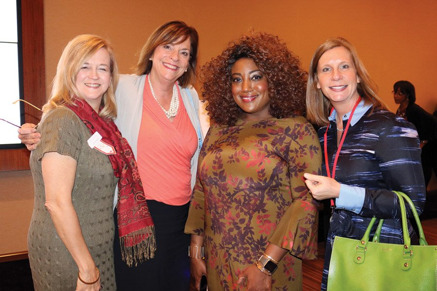 Lynn Johnson, Sandy Hart, Jamila Watson, Lisa Lickert