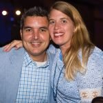 Jeremy and Shelly Whalen, guests of sponsor Prestige AV & Creative Services