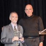 Honoree Alan Brown and Bob Brant