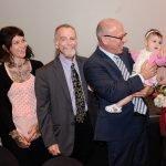Alan Brown and family