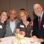 Barbara Farmer, Bernie and Pam Barbash and Barry Kohn
