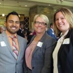 From BB&T Bank: Esteban Calle, Lisa Mell and Jessica Rawe