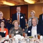 (Front) Craig Brammer, Sara Bolton, Susan Igmire, Steve Scherzinger and Annemarie Henkel; (back) Sally and Neil Tilow, Cathy Crain, Tony Woods and Diane Decker