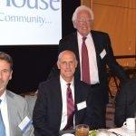 John Silverman, Bill Mees, Cincinnati Vice Mayor David Mann and the Hon. Brad Greenberg