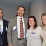 Board members Jamie Leonard, Paul Brunner, Stephanie Gaither and Moira Gettens