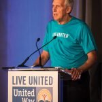United Way president Rob Reifsnyder