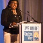 United Way board member Dr. Karen Bankston of the University of Cincinnati College of Nursing