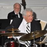 Carmon DeLeone on drums and his New Studio Big Band