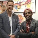 Matthew Metzger and Cedric Michael Cox, event co-chairs