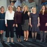 Committee members Katie Coughlin, Julie Ross, Lynne Whang, Beth Kasson, Kelley Carrier, chair Karen McHale, BHS executive director Susan Schiller, Alyson Poling, Megan McCuen and Gail Myers