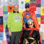 Dr. Nicholas Marko, director of the UC Brain Tumor Center; Dr. John Tew Jr., neurosurgery professor at UC; and Susan Tew