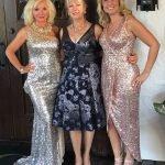 Dr. Magdalena Kerschner, Judy Bajus-Davis and Tiffany Best