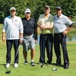 Third-place team: Phil Sheldon, Rick Boudi, Steve Boone and Randy Smith