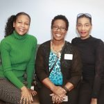 Tracy Bennett, Kelly Wilson and Regina Riggins