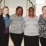 Laura Vaughn, DeLynn Coppoletti, Felicia Johnson, Lucretia Bowman, Nickola Fox and Julie Holzberger