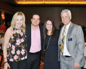 Mary and Tom Eisnagule with Jadel and Donnie Donohoo
