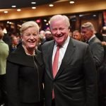 PNC Bank President Kay Geiger and Western & Southern CEO John Barrett