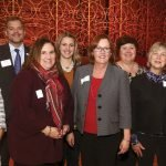 Bethesda Foundation: (front) Jill Miller, Beth Sims, Mellissa Gayer, Jerri Spurlock, Marcia O'Toole; (back) Andy Swallow, Ashlie Lyons, Pamela Baird