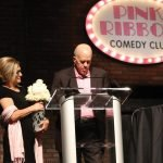 Honorary chairs Suzi and Bob Brant giving invocation