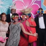 At the after-party: Camille Williams, Cheryl Dukes, Felicia Williams, Reggie Fortson, Andrea Stallworth, Monica Newby, Keith Grace and Dawn Grace