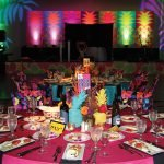 The festive tables Photo credit: Richard Sanders MD-rock doc photography