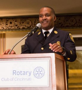 Cincinnati Fire Chief Roy Winston