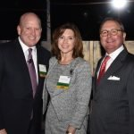 "Chris and Deanna Froman, Centennial Society co-chairs, with Gary T. ""Doc"" Huffman, United Way's 2017 campaign chair"