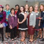 2017 Women of the Year: Pam Kravetz, Sister Sally Duffy, Sandy Kaltman, Karen Bankston, Susan Lee Landis, Jo Martin, Zeinab Schwen, Mimi Mosher Dyer, Lauren Hannan Shafer and Suzanne Adrian De Young