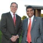Garren Colvin and Dr. DP Suresh