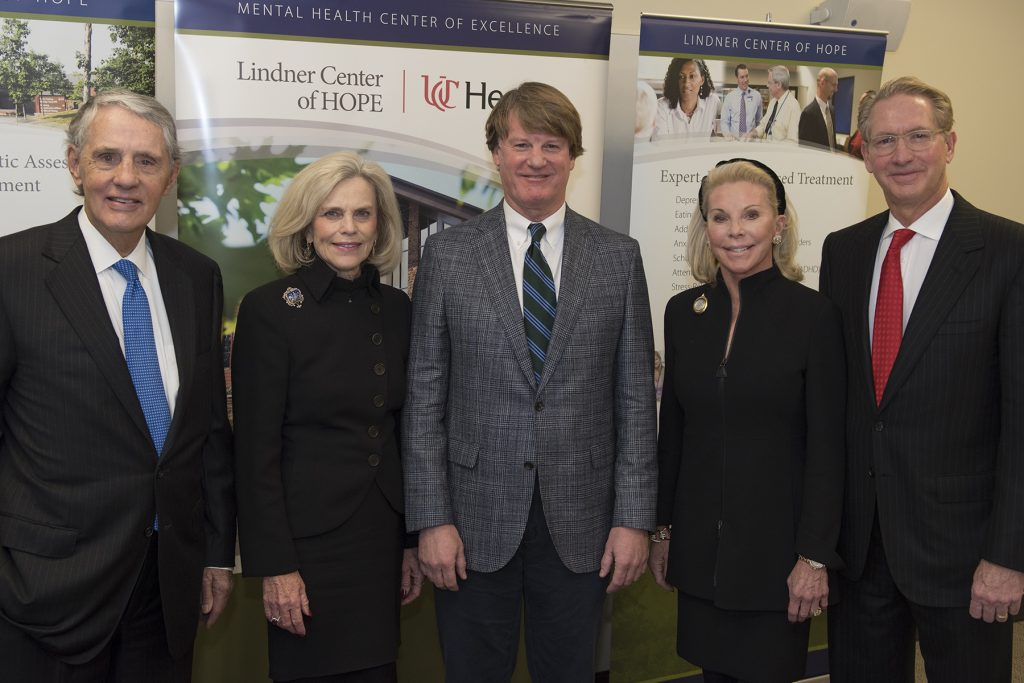 Harry and Linda Fath, Dr. Paul Keck Jr., and Frances and Craig Lindner